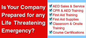 CPR and AED Sales and Training