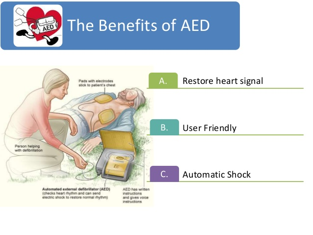 Benefits of an AED (Automated External Defibrillator)